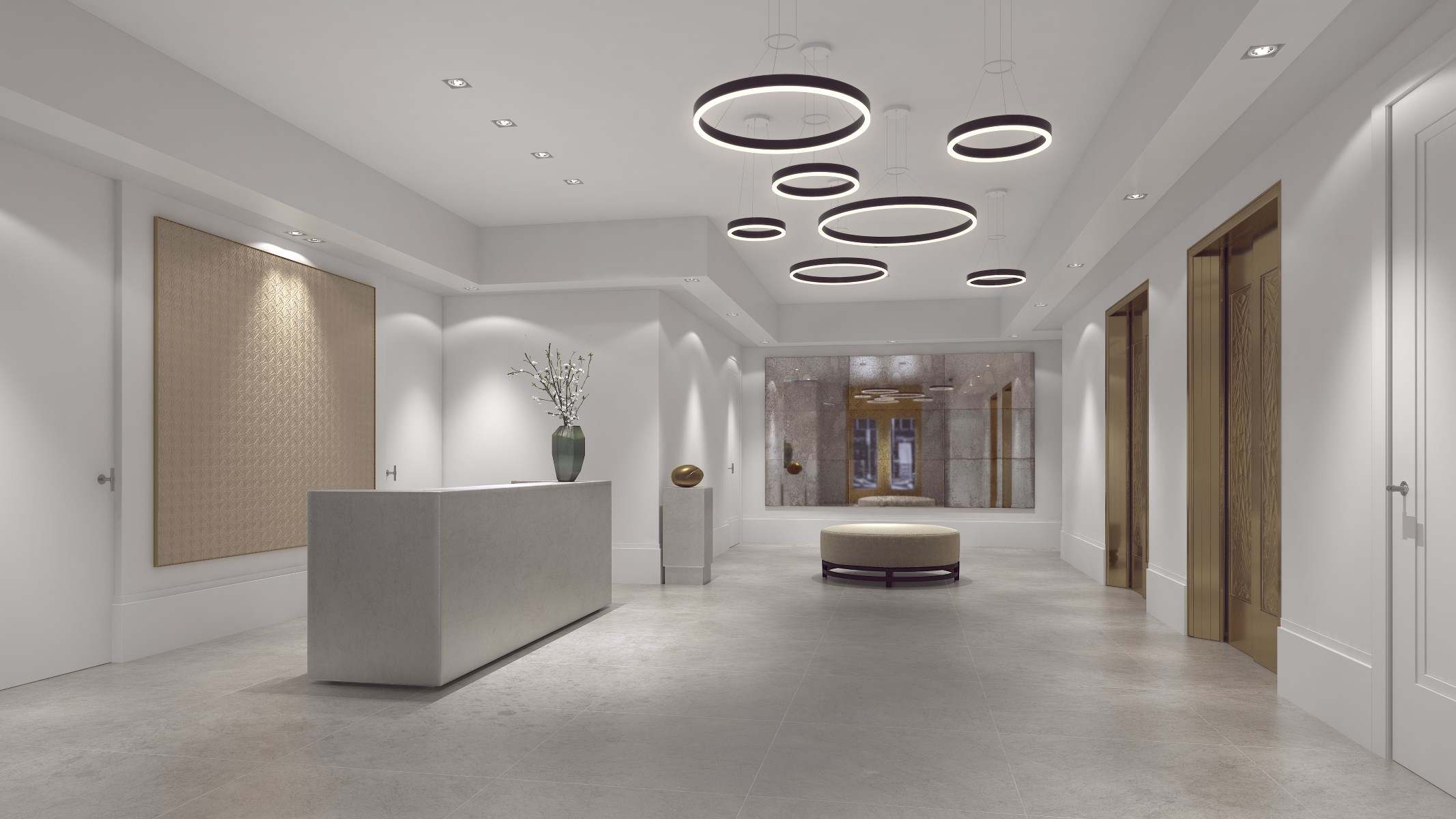 Lobby design and furnishings by Piet Boon