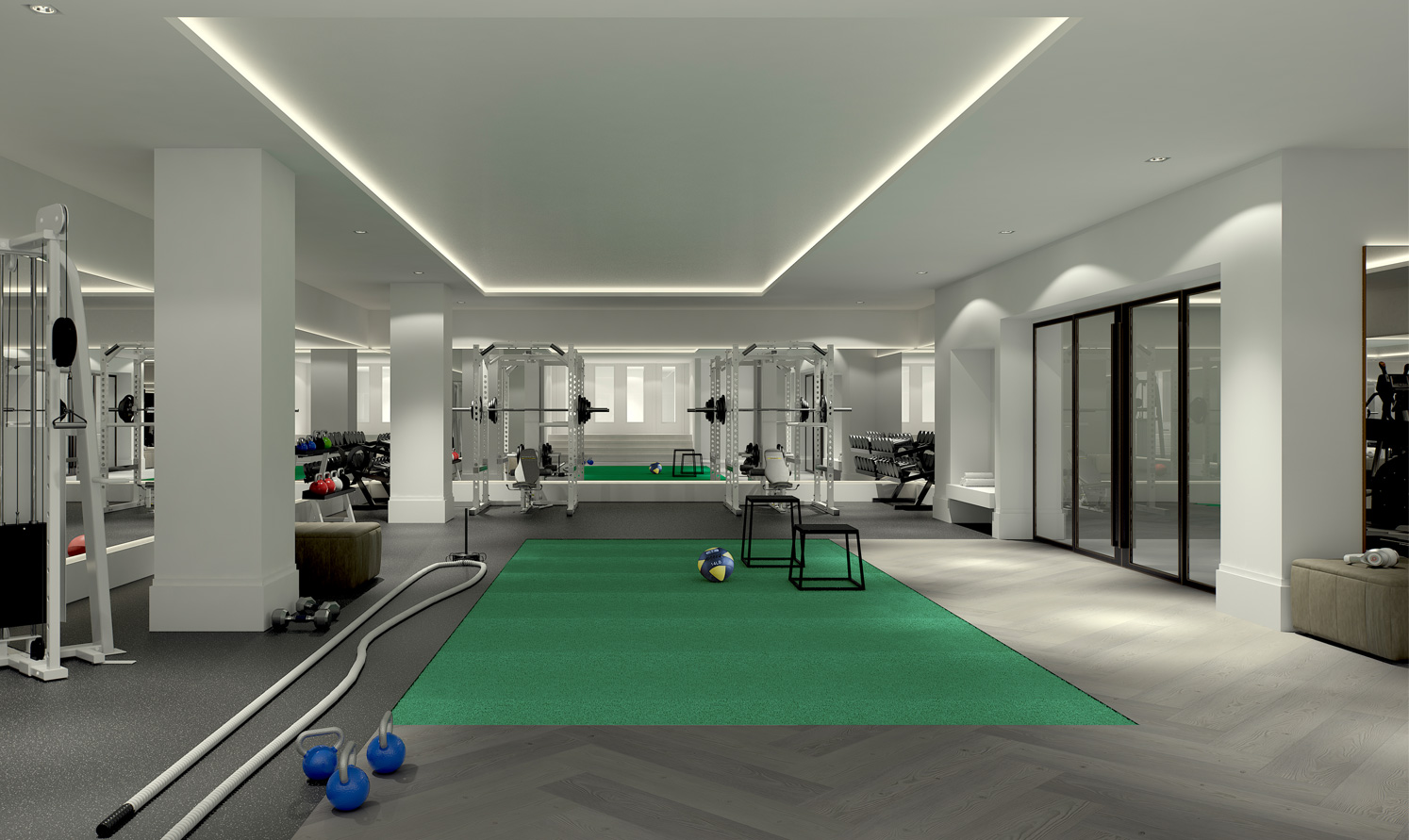 Training studio by Piet Boon with Kevin Dineen