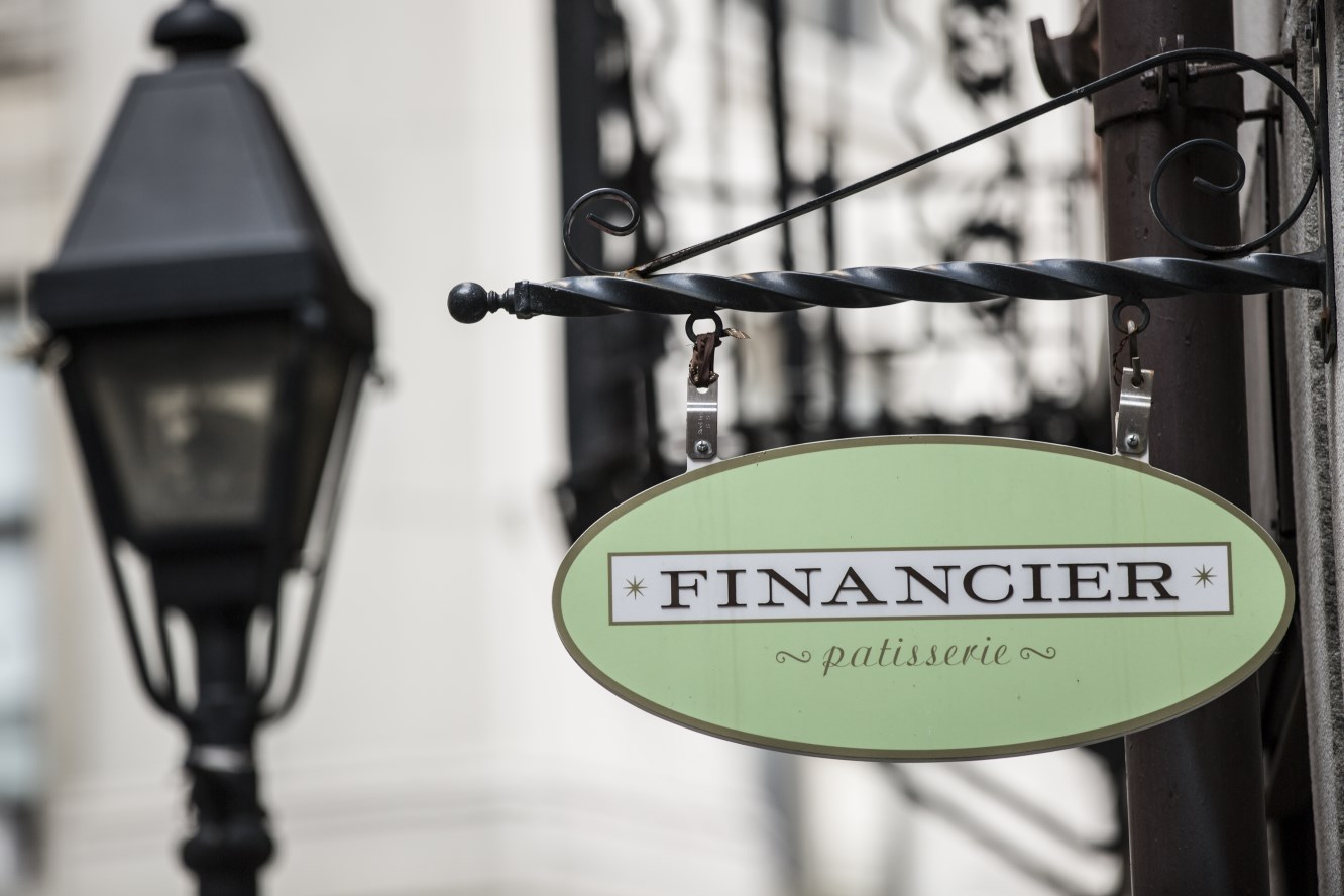Financier is the perfect place to get the taste of a true Parisian bakery