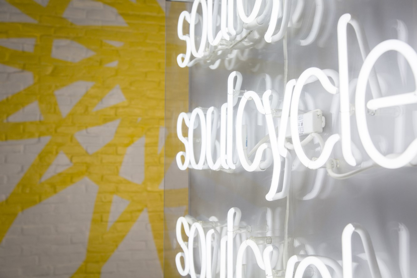 Indoor cycling at Soulcycle