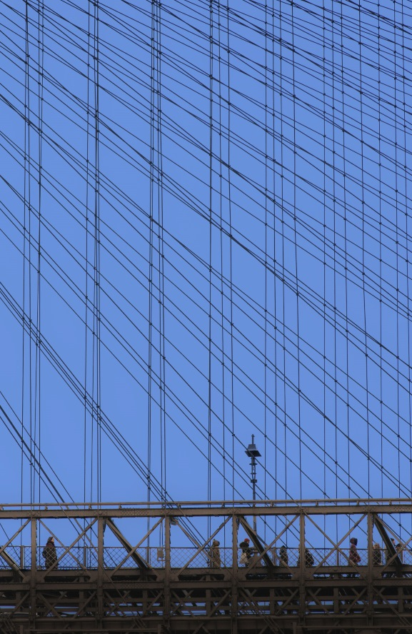 A different perspective on the Brooklyn Bridge